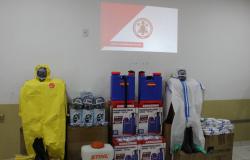 Alta Floresta: Corpo de Bombeiros lançou operação de biodefesa com foco em edifícios públicos