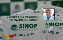 Sinop: médico responsável por kit-covid é internado em UTI com suspeita de coronavírus