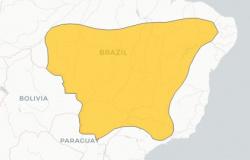 Mato Grosso tem alerta de baixa umidade para os municípios de Alta Floresta, Cáceres e Cuiabá