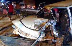 Guarantã do Norte: Motorista é socorrido em estado grave pelos bombeiros após colisão na BR-163