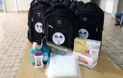 Covid-19: Prefeitura de Nova Monte Verde entrega kit EPIs para servidores da Secretaria de Assistência Social
