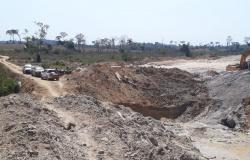 APIACÁS: Ação integrada apreende máquinas em garimpo ilegal e prende cinco pessoas por crime ambiental