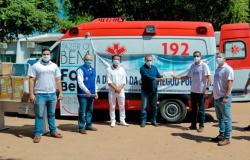 JBS entrega ambulância ao Fundo Municipal de Saúde de Alta Floresta