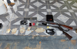 Foragido do presídio de Ourinhos/SP é preso em Paranaíta, armas apreendidas