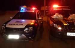Em mais uma ação de repressão ao narcotráfico, PRF, com apoio da PM, apreende 20kg de pasta base e prende 3 pessoas