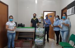 Escola Técnica Estadual de Alta Floresta participa de ação para doação de álcool em gel