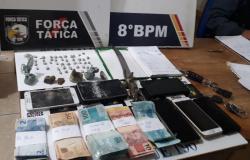 Alta Floresta: Dez são conduzidos por tráfico, cerca de R$ 7 mil e entorpecentes apreendidos