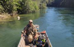 Alta Floresta: Barco vira e piloto desaparece ao levar turistas para passeio