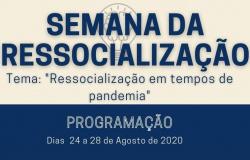 Sesp-MT promove Semana da Ressocialização entre 24 e 28 de agosto