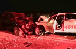 Colisão frontal entre veículos com placas de Alta Floresta e Sorriso na BR-163 deixa 4 feridos