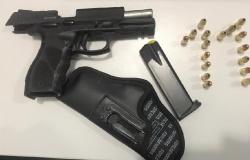 Suspeito é detido depois de agredir esposa e ameaçá-la com pistola em Sinop