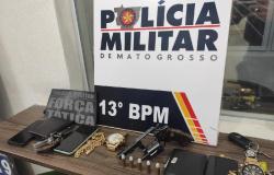 Lucas do Rio Verde: Quatro homens são presos por briga e porte ilegal de arma de fogo