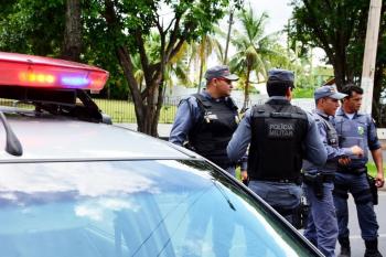 Viatura da PM em MT — Foto: Polícia Militar/MT