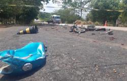 Homem morre em colisão entre caminhonete e moto na MT-320 em Colíder