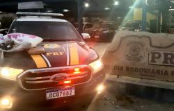 Mulheres são presas com cocaína em ônibus que saiu de Alta Floresta (MT) com destino a Recife (PE)