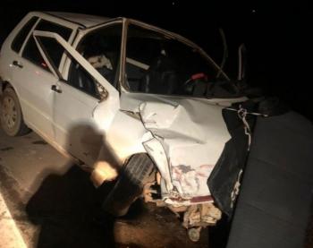 Mulher fica ferida após colisão na MT-320 em Colíder