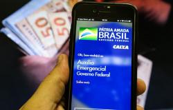 Caixa paga auxílio emergencial para 3,2 milhões de beneficiários