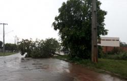 Alta Floresta: Instituto emite alerta de chuvas intensas e ventos de até 100 km