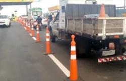 Motoristas fazem >buzinaço> como protesto em praça de pedágio da MT-208 entre Carlinda e Alta Floresta