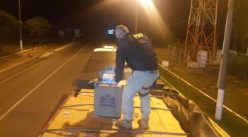 PRF apreende carreta carregada de cigarros contrabandeados do Paraguai, carga iria para Terra Nova do Norte