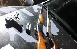 Alta Floresta: menor apontado como integrante de facção criminosa é apreendido com pistola e espingardas