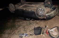 Carlinda: colisão entre carro e moto faz uma vítima fatal na MT-320