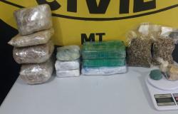 Operação Apocalipse: Distribuidor de drogas é preso com mais de 07 quilos de drogas
