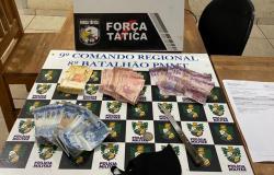 PM prende ex-presidiário minutos após roubo a estabelecimento comercial em Alta Floresta