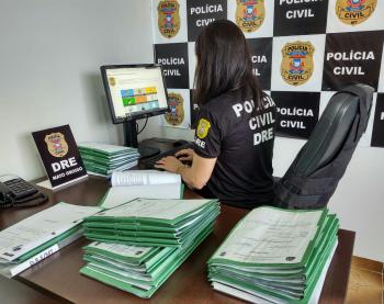 Delegacia de Entorpecentes aumenta em 38,4% o número de inquéritos instaurados em investigações de tráfico