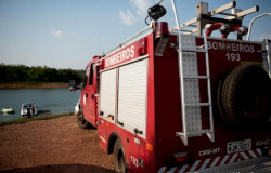 Bombeiros de Alta Floresta realizam buscas por homem desaparecido no rio Apiacás