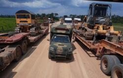 Nova Guarita: operação fecha garimpo ilegal de ouro em área de mata nativa no entorno de rio