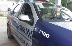 ALTA FLORESTA: Mulher vítima de agressão pula de carro e PM chega na hora
