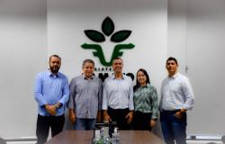 Famato recebe a visita do prefeito eleito de Apiacás