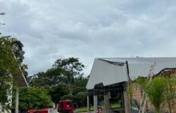 Corpo de Bombeiros registra princípio de incêndio em escola de Alta Floresta