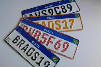 Mais de 230 mil veículos em Mato Grosso já estão com placa Mercosul