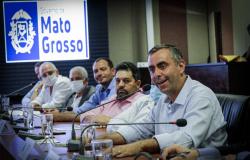 Prefeito eleito de Apiacás cumpre agenda em Cuiabá e discute sobre jazida de calcário e a MT 160