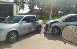 Alta Floresta: Mulher e criança ficam feridas em acidente de trânsito na MT-208