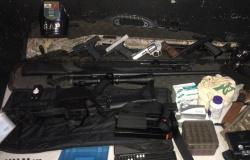Atirador esportivo é detido com sete armas ao ser flagrado embriagado em Sinop
