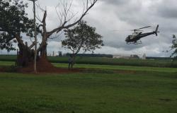 Bombeiros, policiais e voluntários fazem buscas por criança desaparecida na véspera de natal em Lucas do Rio Verde