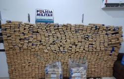 Policiais encontram 1,3 tonelada de maconha dentro de caminhonete em Mato Grosso
