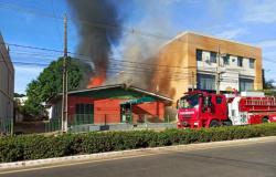 Lucas do Rio Verde: Incêndio atinge hotel na manhã do primeiro dia do ano