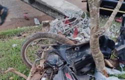 Motociclista se envolve em acidente, derruba dois postes em Sinop e morre