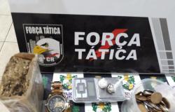 Polícia Militar de Alta Floresta desmantela 'comércio' de drogas