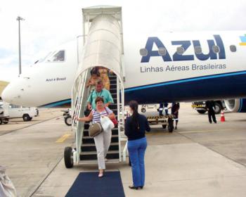 Tráfego de passageiros consolidado da Azul cresce 18,1% em dezembro ante novembro