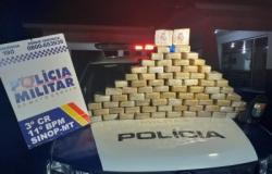 Policia Militar de Sinop apreende pasta base de cocaína avaliada em 2 milhões
