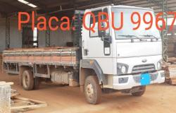 Polícia Civil de Aripuanã recupera caminhão furtado em Alta Floresta as margens da MT-183
