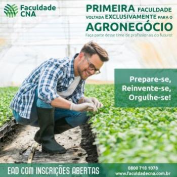 Faculdade CNA abre inscrições para polos em Mato Grosso