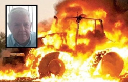Juina: Motor de trator explode e trabalhador rural morre queimado gritando por socorro