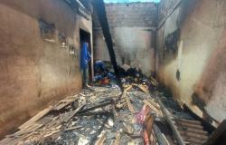 Guarantã do Norte: mulher morre carbonizada após incêndio em residência