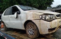 Motorista perde controle e capota veículo na MT-208 em Alta Floresta